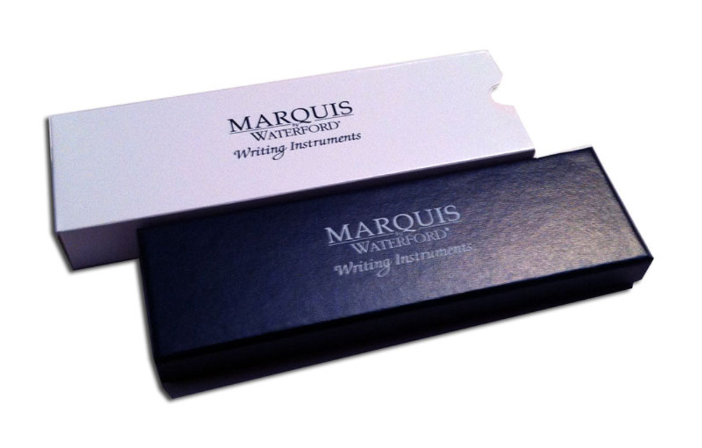Waterford Marquis Arcadia II Chrome Cross Ballpoint Pen gift box