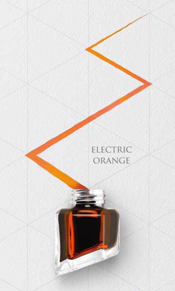 Caran d'Ache Electric Orange Ink Bottle