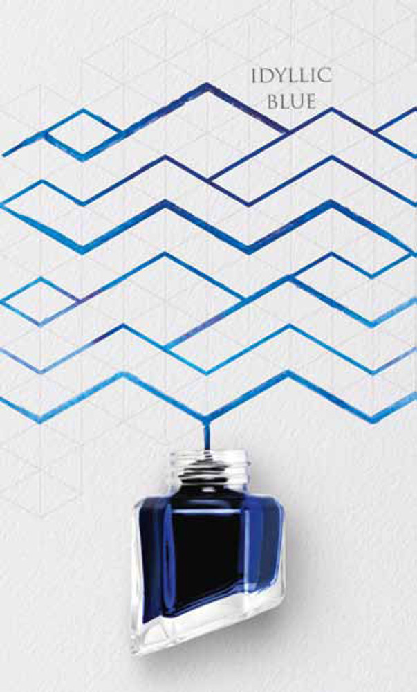 Caran d'Ache Idyllic Blue Ink Bottle
