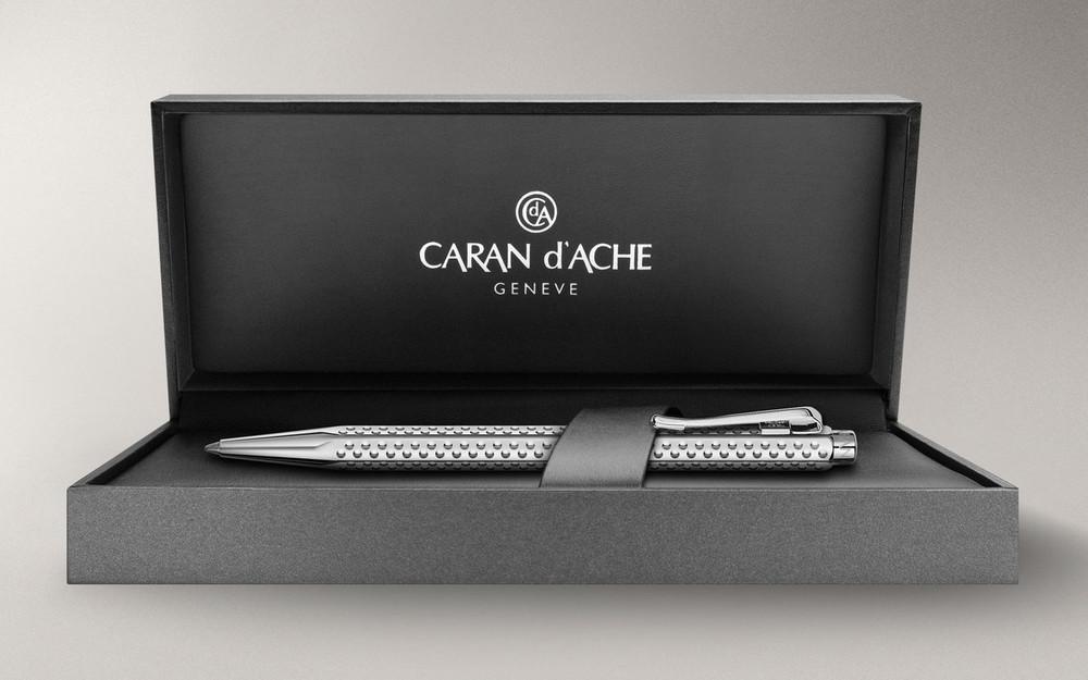 Caran d'Ache Palladium-coated Ecridor Golf Ballpoint Pen