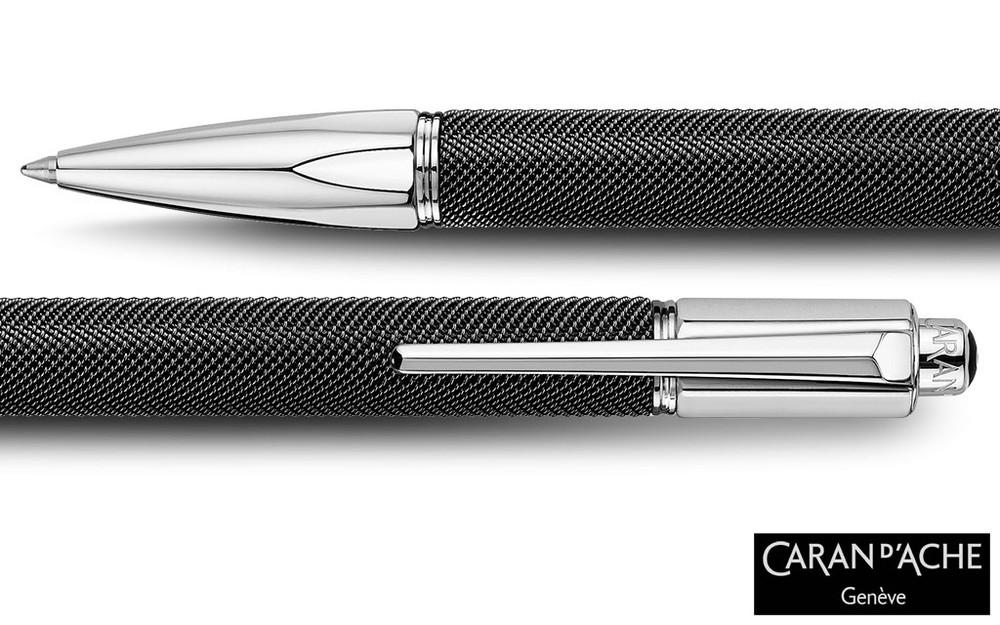 Caran d'Ache Varius Ivanhoe Black Ballpoint Pen