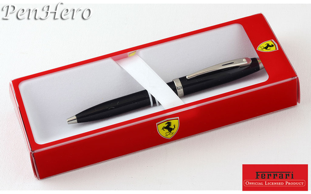 Sheaffer Ferrari 100 Black Ballpoint Pen