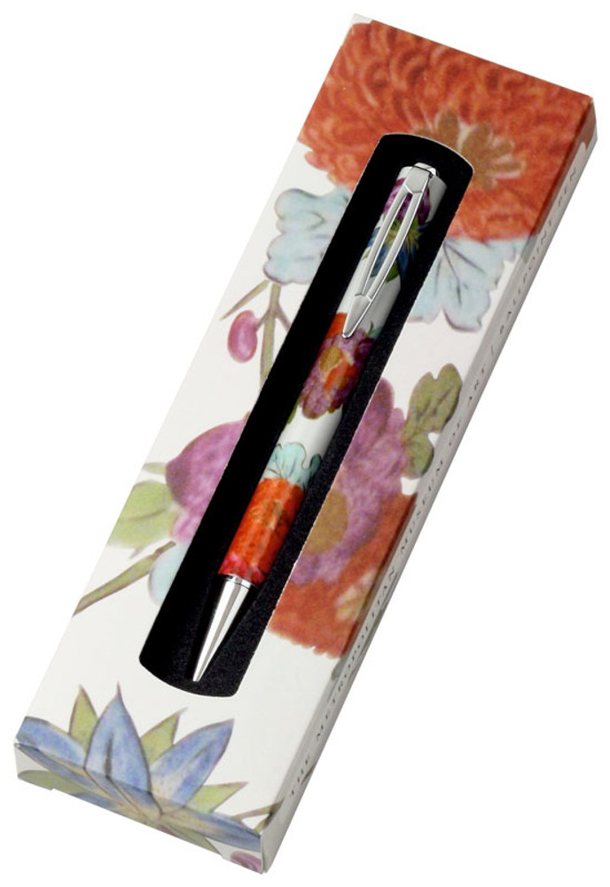 The Metropolitan Museum of Art Meissen Floral Ballpoint Pen in gift box