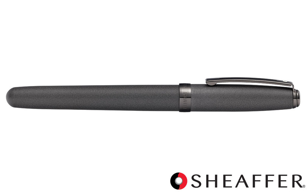 Sheaffer Prelude Matte Gunmetal Tone PVD Gunmetal Trim Fountain Pen