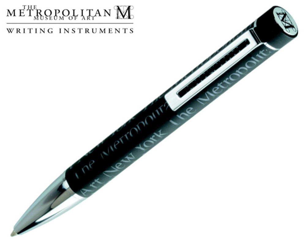 The Metropolitan Museum of Art Black Logo Ballpoint Pen