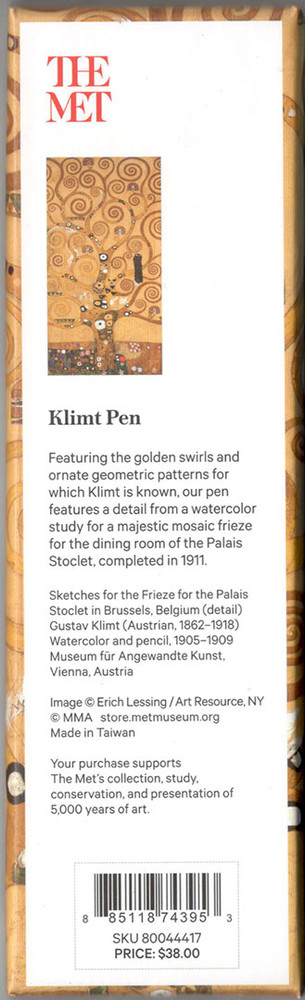 The Metropolitan Museum of Art Klimt Ballpoint Pen