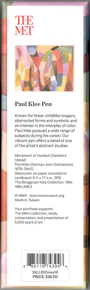 The Metropolitan Museum of Art Paul Klee Ballpoint Pen