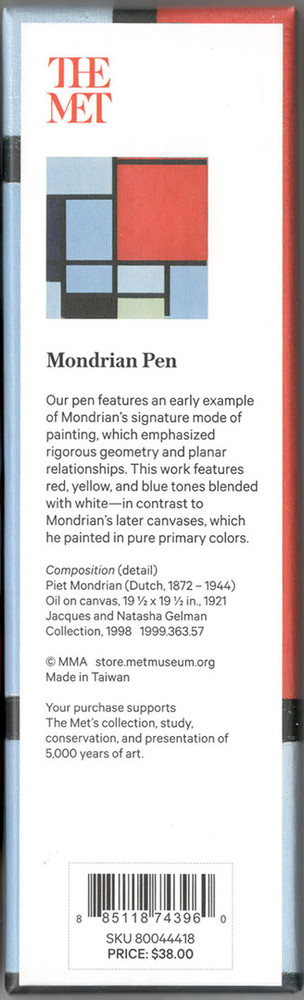 The Metropolitan Museum of Art Mondrian Ballpoint Pe
