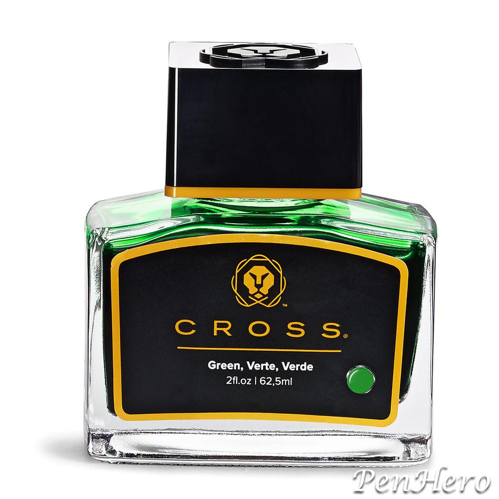 Cross Fountain Pen Ink Green (single bottle)