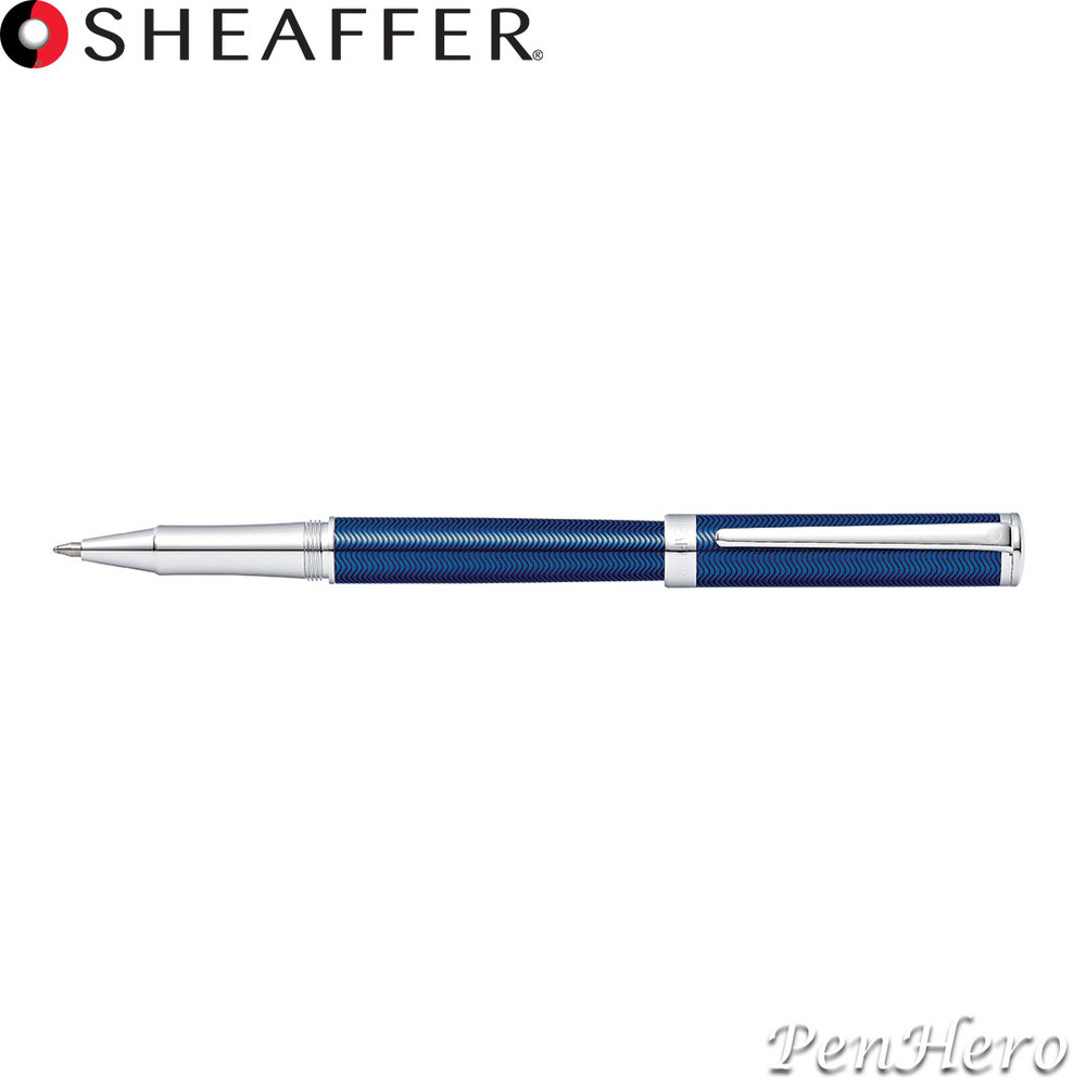Sheaffer Intensity Engraved Translucent Blue Rollerball Pen