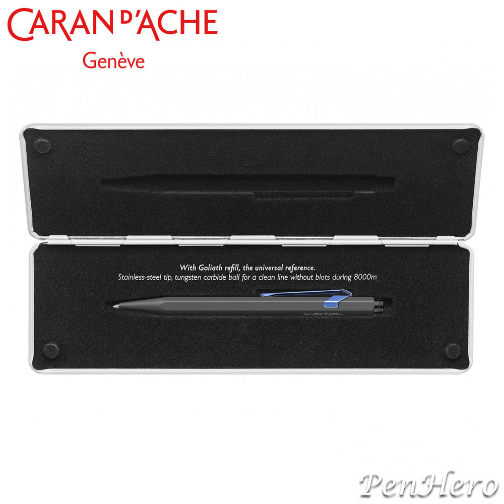 Caran d'Ache 849 Claim Your Style Grey Limited Edition ballpoint pen 849.549