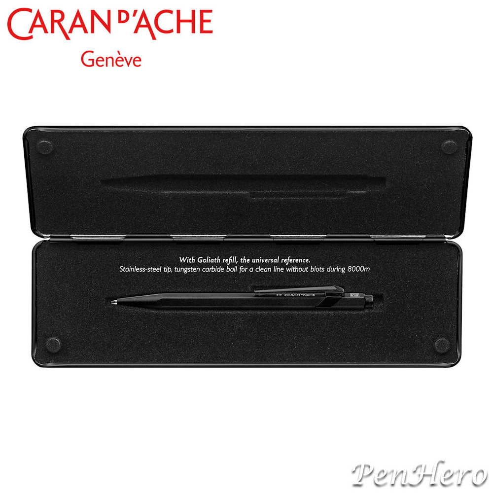 Caran d'Ache 849 Black Code Limited Edition ballpoint pen CC849.019BL