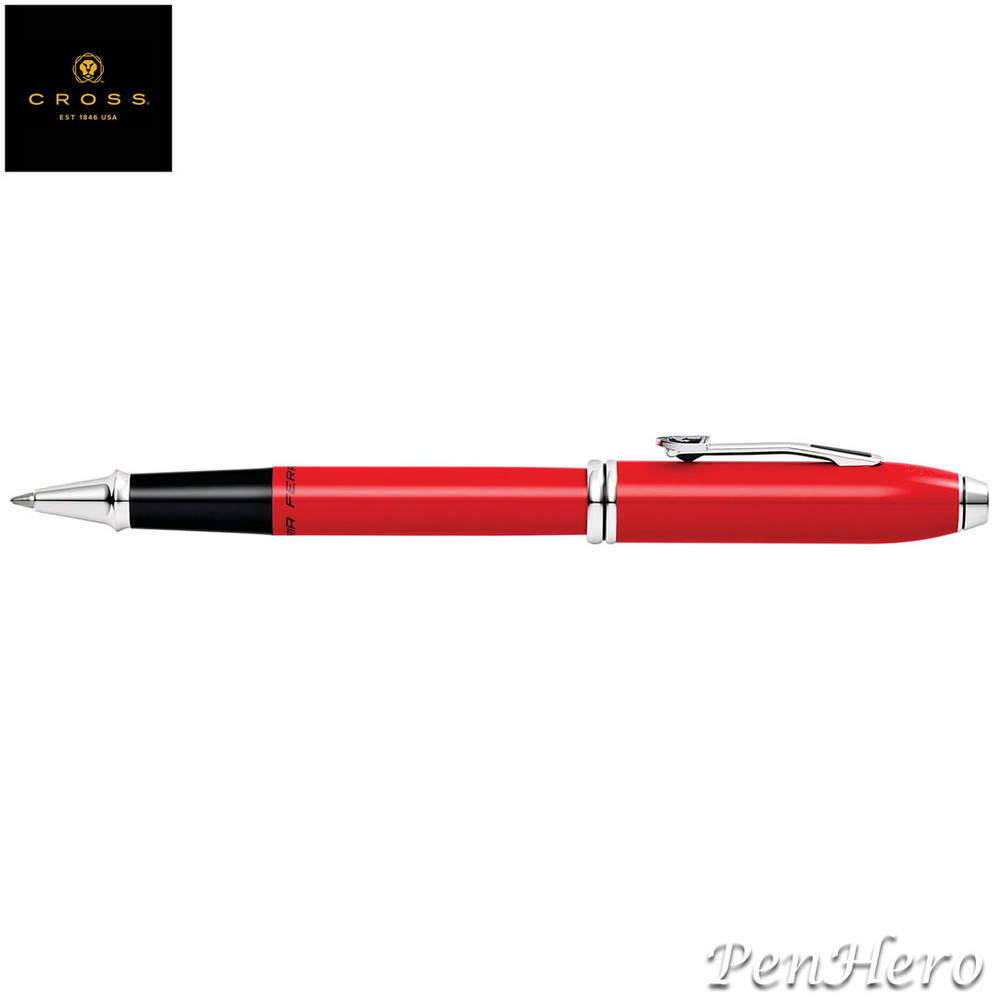 Cross Townsend Ferrari Glossy Rosso Corsa Red Lacquer Rollerball Pen