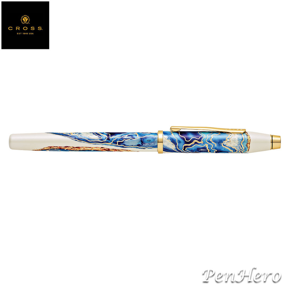 Cross Wanderlust Malta Fountain Pen Medium with FREE LEATHER PEN CASE