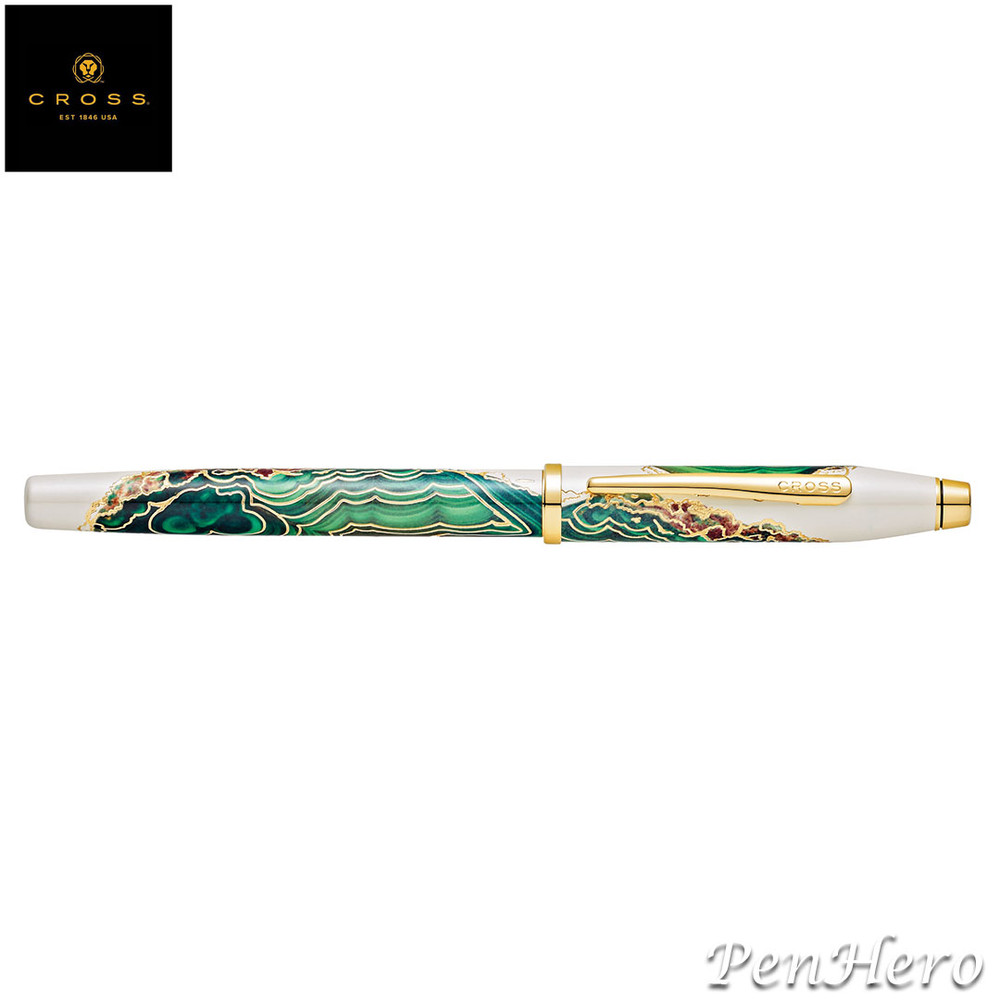 Cross Wanderlust Borneo Fountain Pen Medium with FREE LEATHER PEN CASE