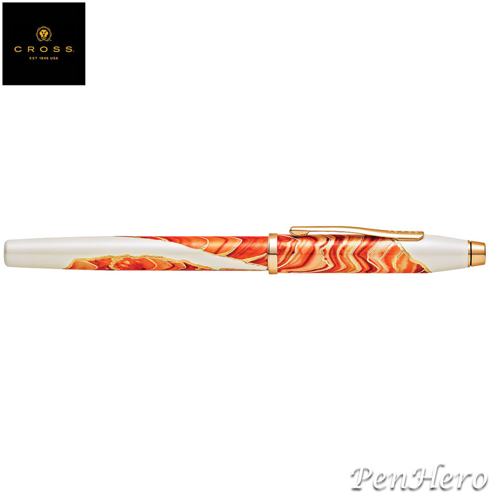 Cross Wanderlust Antelope Canyon Fountain Pen Fine with FREE LEATHER PEN CASE