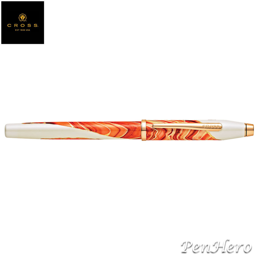 Cross Wanderlust Antelope Canyon Fountain Pen Medium with FREE LEATHER PEN CASE