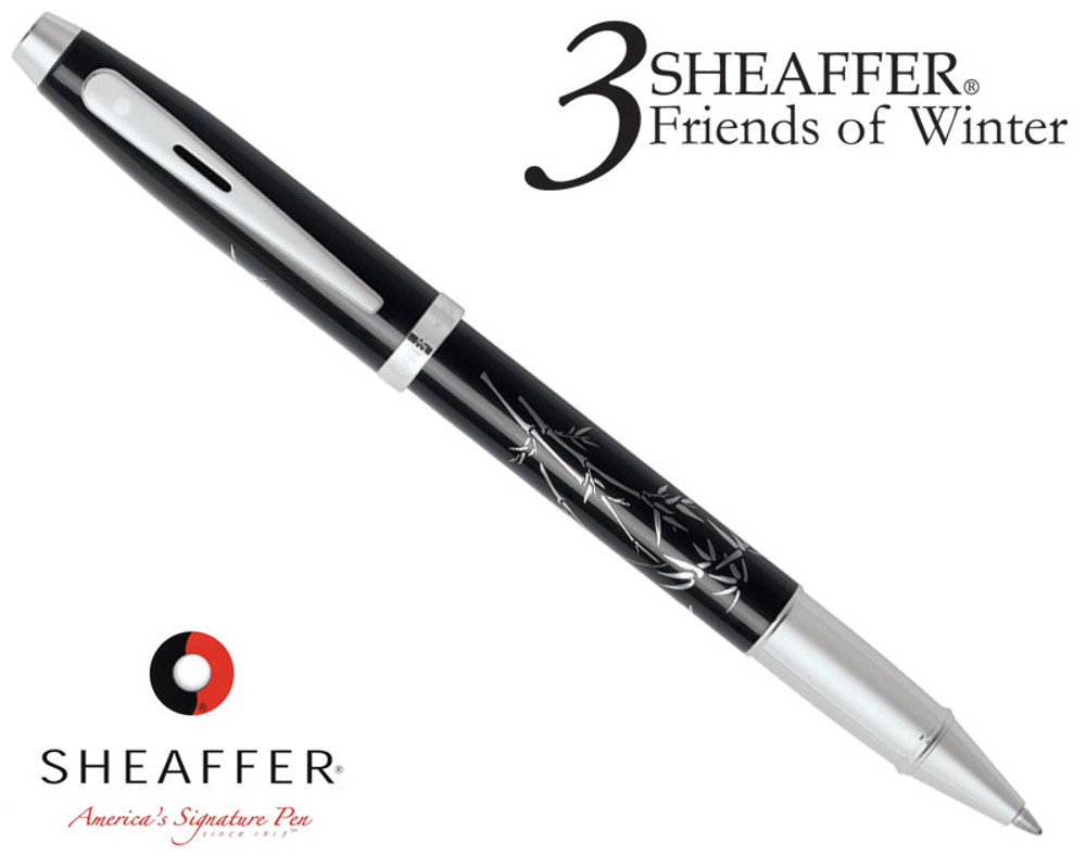 Sheaffer 100 3 Friends of Winter, Bamboo Design Rollerball Pen