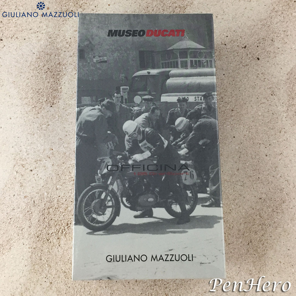 Giuliano Mazzuoli Ducati 125 Gran Sport Red Ballpoint Pen / 0.7mm Pencil