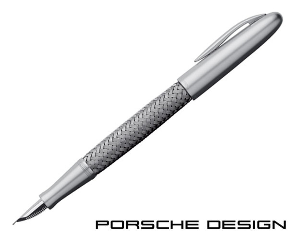 Porsche Design P3100 TecFlex Steel Fountain Pen