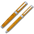 ACME Dots Yellow by Charles & Ray Eames Rollerball & Ballpoint Pen Set