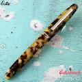 Esterbrook Estie Tortoise Silver Trim Fountain Pen Medium E126-M