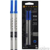 Cross Selectip Gel Rolling Ball Refill Blue - Dual Pack