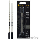 Cross Ballpoint Refill Fine Black - Dual Pack