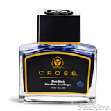 Cross Fountain Pen Ink Blue/Black (single bottle)