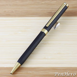 Sheaffer Intensity Engraved Matte Black Ballpoint Pen
