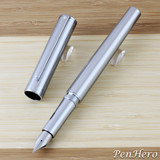 Sheaffer Intensity Engraved Chrome Fountain Pen Medium