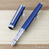 Sheaffer Intensity Engraved Translucent Blue Fountain Pen Medium