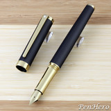 Sheaffer Intensity Engraved Matte Black Fountain Pen Medium
