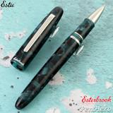 Esterbrook Estie Evergreen Palladium Plate Trim Rollerball Pen E167