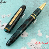 Esterbrook Estie Evergreen Gold Trim Rollerball Pen E177
