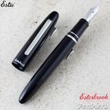 Esterbrook Estie Black Palladium Plate Trim Fountain Pen Extra Fine E106-EF