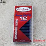 Esterbrook Sapphire Blue Fountain Pen Ink Cartridges - Pack of 12