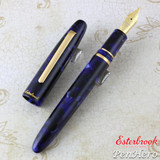 Esterbrook Estie Cobalt Gold Trim Fountain Pen Broad E156-B