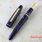 Esterbrook Estie Cobalt Gold Trim Fountain Pen Extra Fine E156-EF