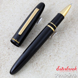 Esterbrook Estie Black Gold Trim Rollerball Pen E117