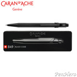 Caran d'Ache 849 Black Code Limited Edition ballpoint pen
