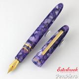 Esterbrook Estie Lilac Gold Plate Trim Fountain Pen Fine E406-F