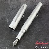 Esterbrook Camden Silver Fountain Pen Fine E906-F