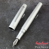 Esterbrook Camden Silver Fountain Pen Medium E906-M