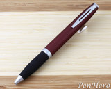 Used Sheaffer Javelin Metal Cranberry Ballpoint Pen