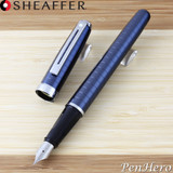 Sheaffer Prelude Deep Blue Fountain Pen Fine