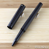 Sheaffer Intensity Engraved Matte Black PVD Rollerball Pen
