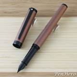 Sheaffer Intensity Engraved Bronze PVD Fountain Pen Fine