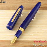 Esterbrook Estie Sparkle Oversize Tanzanite Gold Plate Trim Fountain Pen Medium ESPR10-M