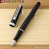 Sheaffer Prelude Black Lacquer Fountain Pen Fine